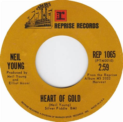 neil young heart of gold 1972 all charts weekly top 40