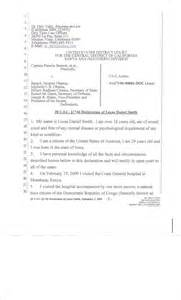Birth Certificate Declaration Letter Lucas Smith Affidavit Now Filed With The Us District Court Obama Kenyan Bc