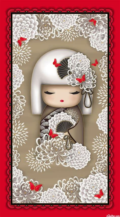 china doll quilt pattern 17 best images about kokeshi kimmidoll on