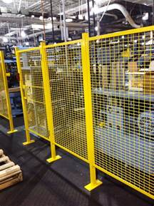 Handrail Systems Machine Guarding