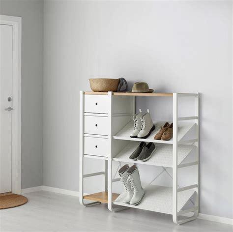 ikea shoe storage solutions ikea elvarli storage solution shelving unit kastensysteem