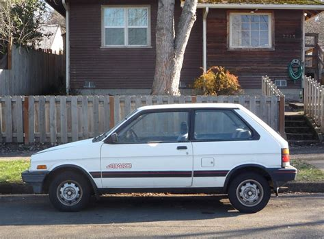 subaru justy 1991 subaru justy information and photos zombiedrive