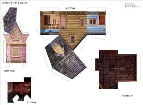 printable house from up mmc up