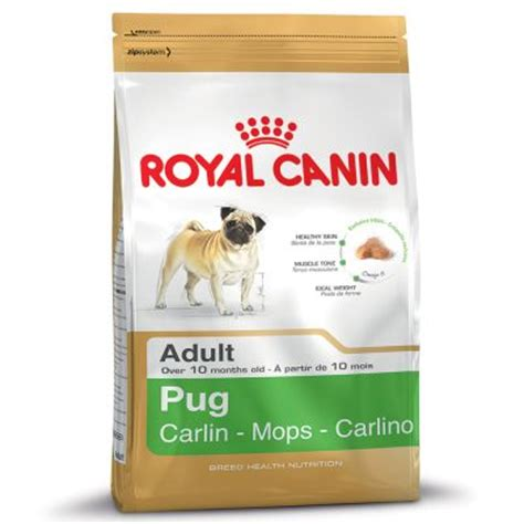 royal canin pug food feeding guide royal canin pug free p p on orders 163 29 at zooplus