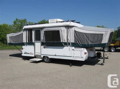 coleman bayside elite  box tent trailer lots  extras  sale  barrie ontario