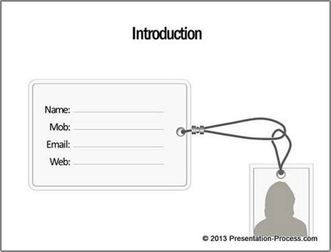 self introduction powerpoint template powerpoint tag tutorial