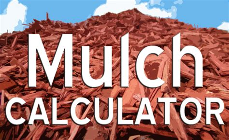 mulch coverage calculator