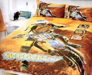 dirt bike bed set motocross kawasaki dirt bike size quilt cover set on popscreen