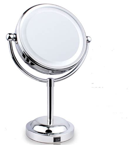 bathroom makeup mirror 6 bathroom makeup beauty l mirror double sided