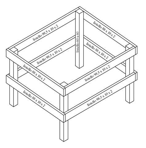 come costruire un tavolo costruire facile come costruire un tavolo da ping pong