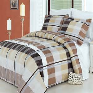 Mens Duvet Sets New Suede Bed Bedding Set Comforter All Size Queen Full