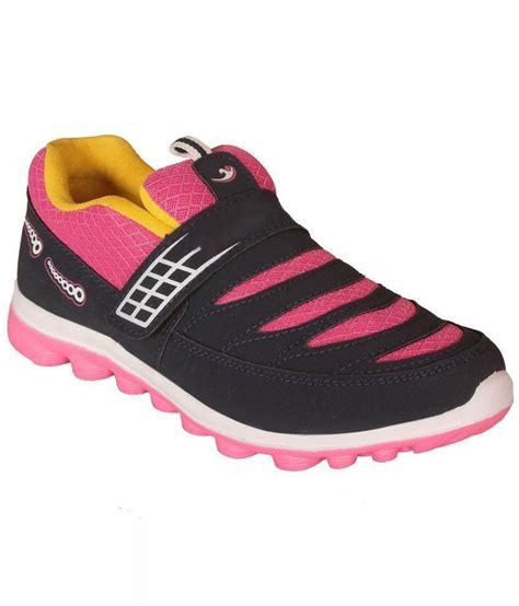 pink athletic shoes jollify pink running sports shoes price in india buy