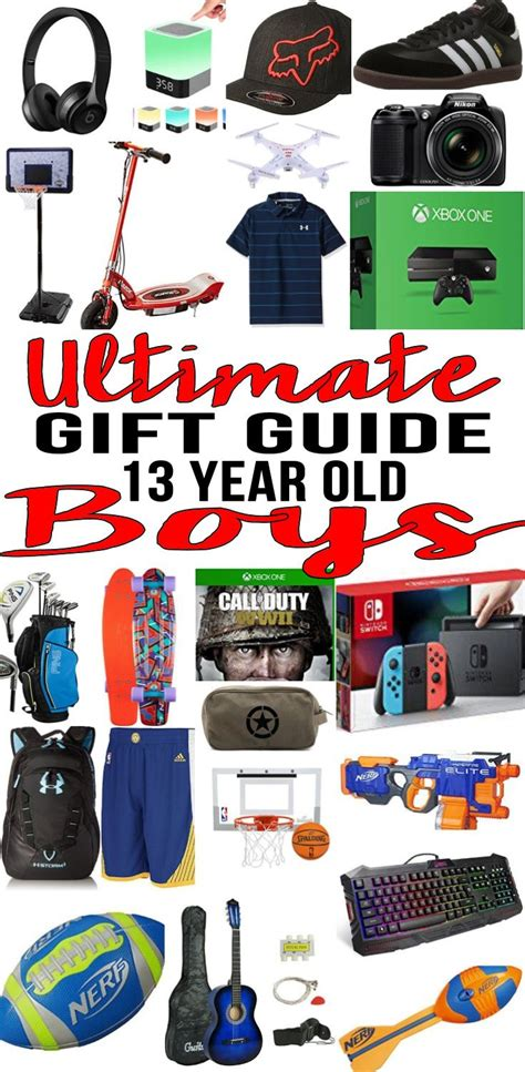 13 year old boy christmas gifts best gifts for 13 year boys gift suggestions 13th birthday and boys