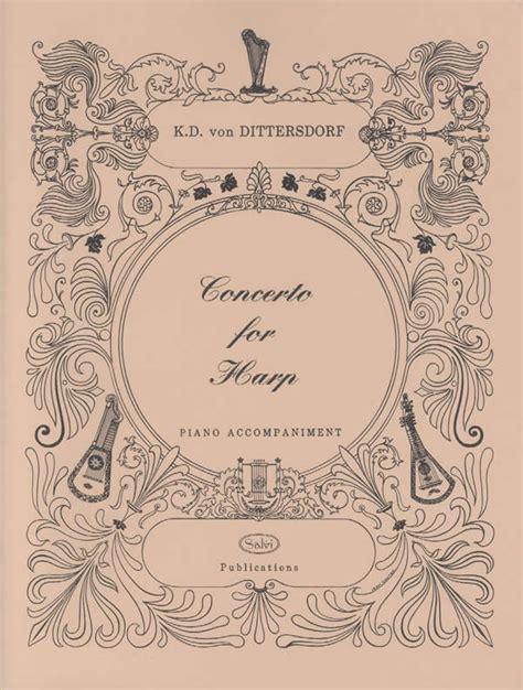 Danses Sacree Et Profane Score harp sheet concerto in c major kv 299 for flute