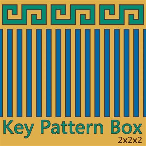 greek key coloring page greek key inspired printable box printables pinterest