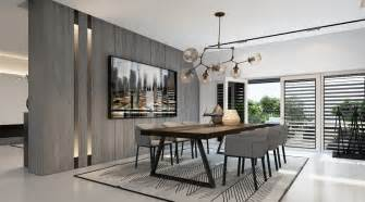 The Dining Room At The Modern Penthouse Interior Designs Visualized