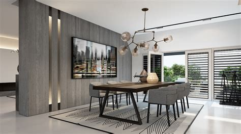 Modern Dining Room by Dusseldorf Modern Dining Room Interior Design Ideas