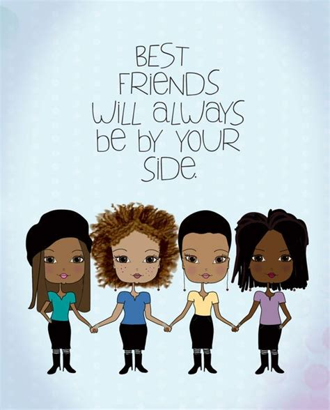 art friendship picture more detailed picture about best african american best friends art print the shorts