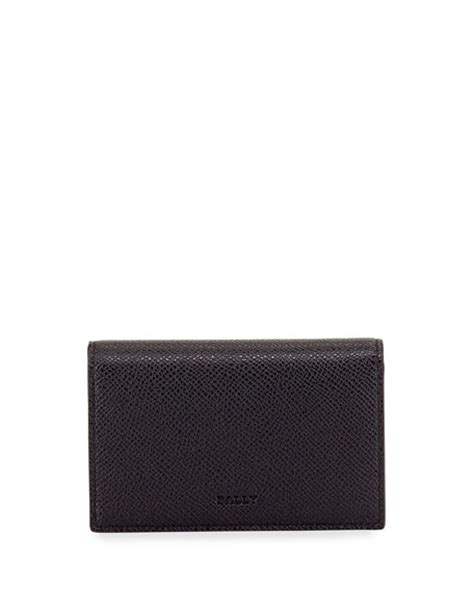 bally striped business card holder in black for waterford lismore business card holder