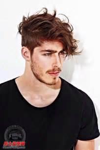 mens aports hair cuts 2015 欧美男人示范卷发刘海发型 2015男士发型流行趋势 图 3 欧美发型 男士发型网