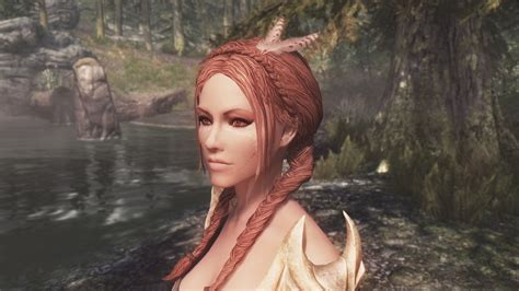 beautiful hair skyrim lovely hairstyles at skyrim nexus mods and community