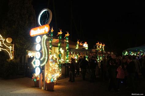 a review of busch gardens williamsburg for christmas town