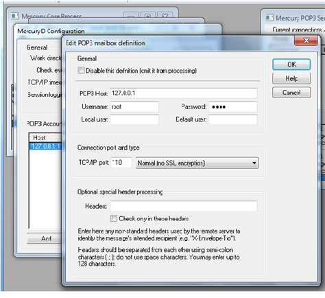 configure xp mercury mail how to send mail from localhost with xp and mercury32