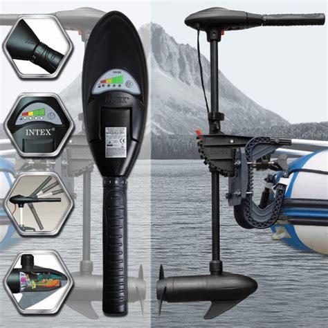 intex boot onderdelen intex elektrische motor voor boot rubberboot met