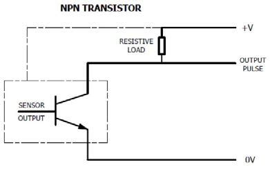 pull up resistor npn to pnp deciding what output works best with a particular flow meter