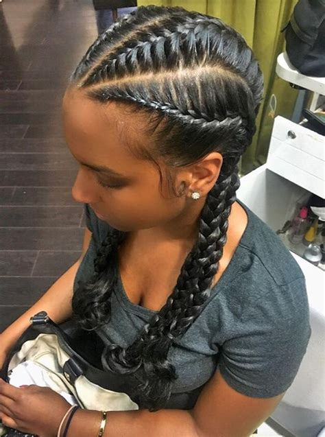 best 25 french braids black hair ideas on pinterest