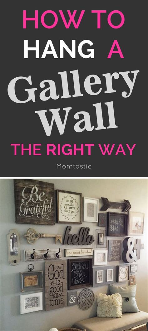 best way to hang wall best 25 hanging pictures ideas on photo frame