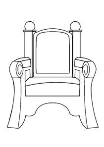 free coloring pages of throne