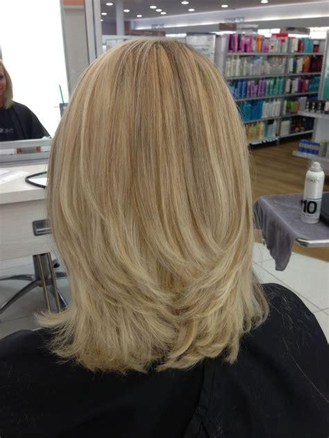 blonde highlights    lowlights hair styles
