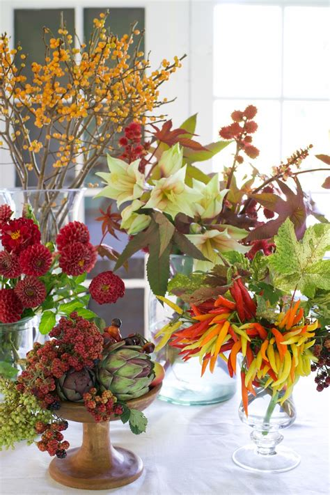 amazing autumn centerpieces from tulipina