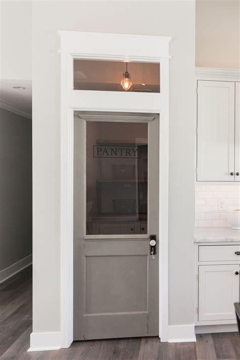 kitchen interior doors pantry door transom window love the white woodwork