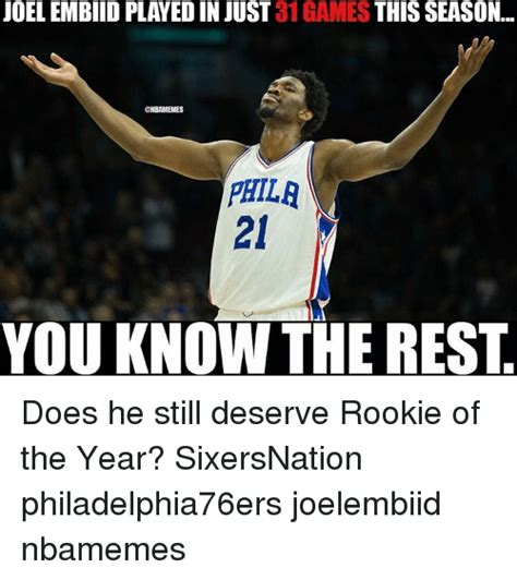 Who Are The Favorites This Season For Mba Mvp by 25 Best Memes About Embiid Embiid Memes
