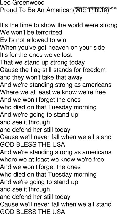 An American Lyrics Pin By Nikisha Zechiel On Song Lyrics