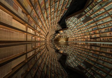 this futuristic library in china looks incredible 9 photos 171 twistedsifter