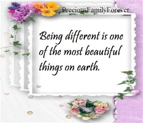Different Is Beautiful precious family being different is one of the most