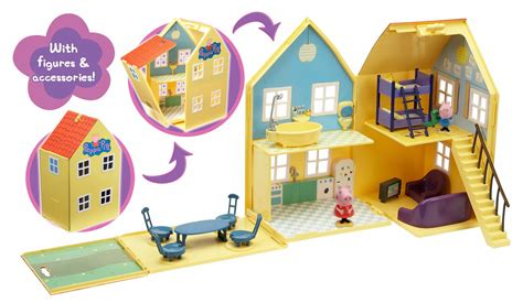 peppa pig deluxe house peppa pig deluxe play house giveaway