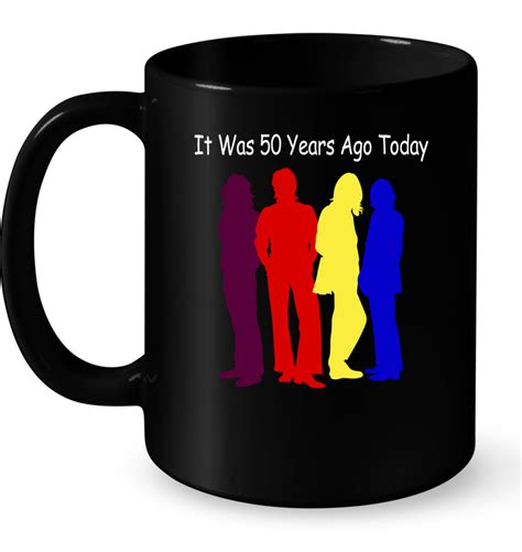 it was 50 years ago today and how i followed four days of it was 50 years ago today the beatles t shirt buy t