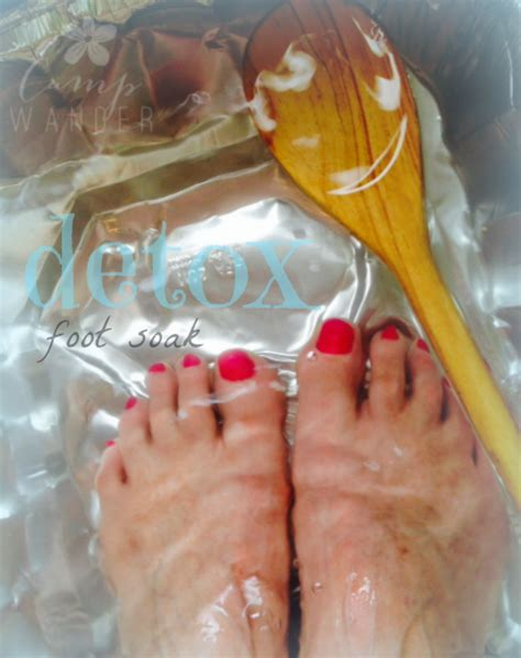 Water Foot Detox by To Get Started You Ll Need Something Large Enough For Both