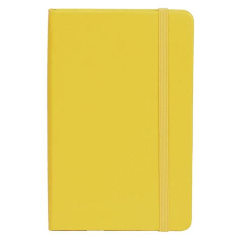 Yellow Notebook by Moleskine Classic Cover Ruled Pocket Notebook Yellow