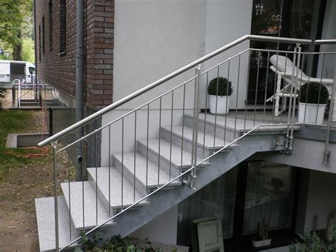 handlauf für aussenbereich au 223 en idee stahltreppe home design ideen