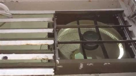 exhaust fan in room 12 quot kdk exhaust fan in the refuse garbage collection room where i live