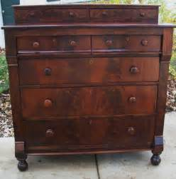 Pictures Of Antique Dressers by Details About Federal Empire Antique Dresser Chest Crotch