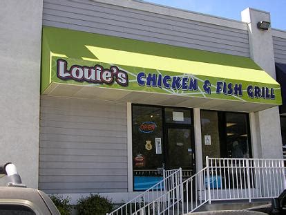 louie s restaurant of the week louie s chicken and fish grill