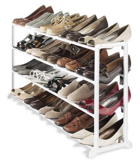 is a shoe rack the best method for shoe storage san