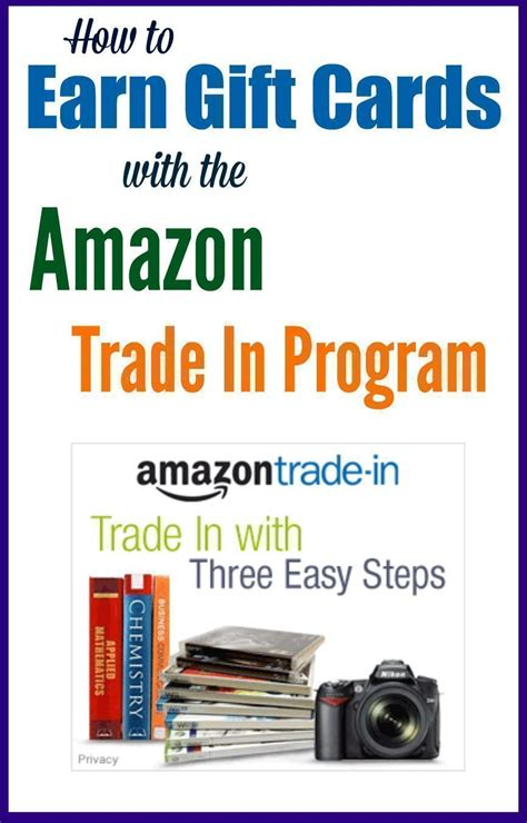 Amazon Gift Card Trade - how to earn gift cards with the amazon trade in program
