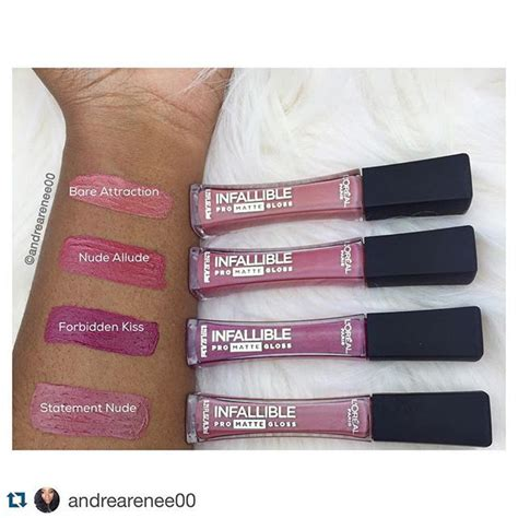 Jual Loreal Infallible Pro Matte some swatches from the loreal infallible pro matte lip